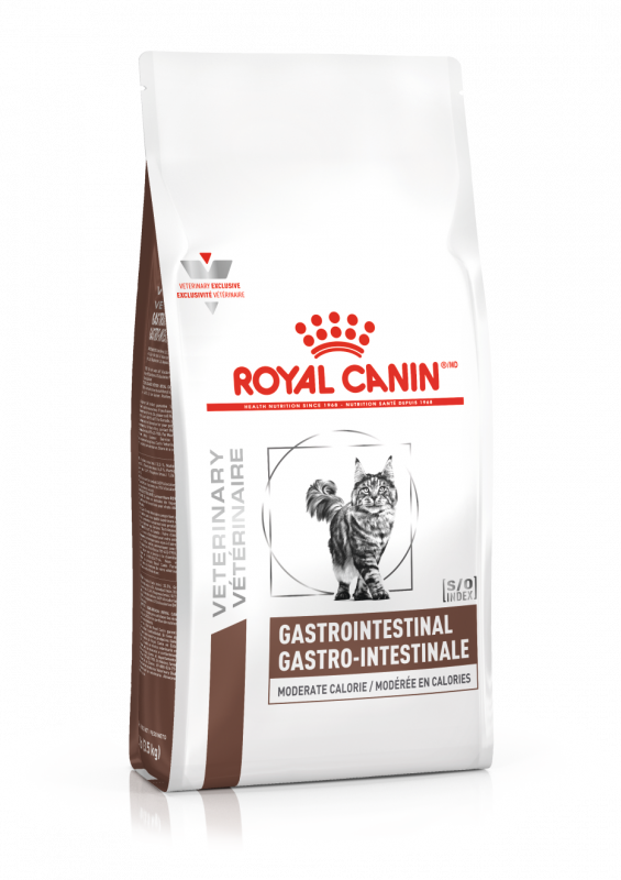Royal Canin Veterinary Diet Cat Gastrointestinal Moderate Calorie 2 Kg