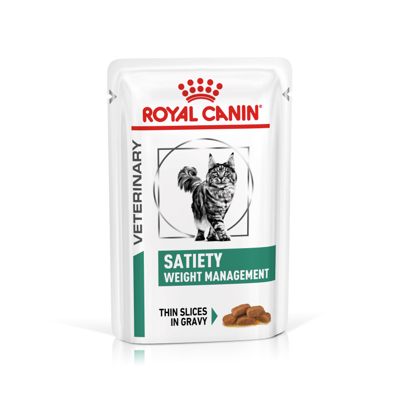 Royal Canin VD Feline Satiety Weight Management 1,5kg 12x 0.085 Kg