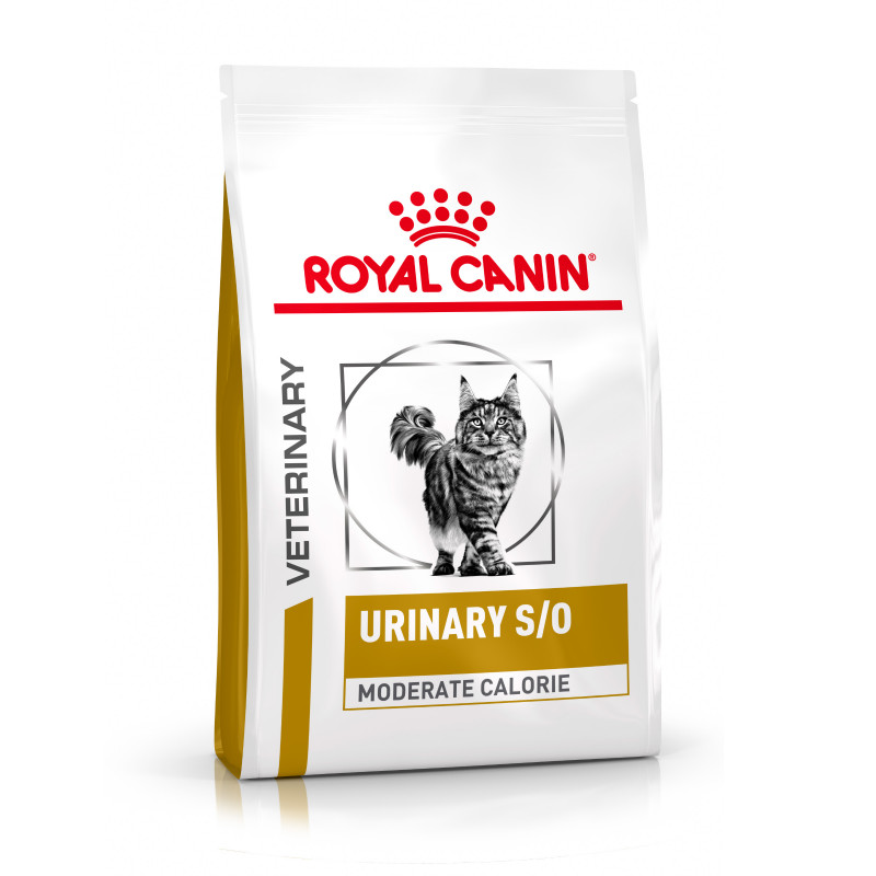 Royal Canin Veterinary Health Nutrition Cat Urinary S/O Moderate Calorie 1.5 Kg